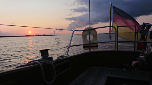 Sonnenuntergang Höhe Drochtersen