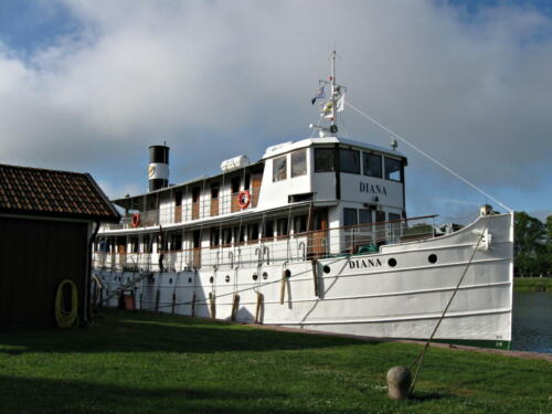 Götakanal, Lyrestad, Diana