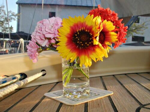 Frühlingsblumen zum Geburtstag