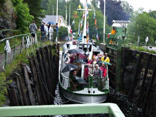 Dalslandkanal Ausflugsschiff